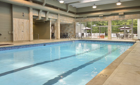 Indoor Pool and Fitness Facility