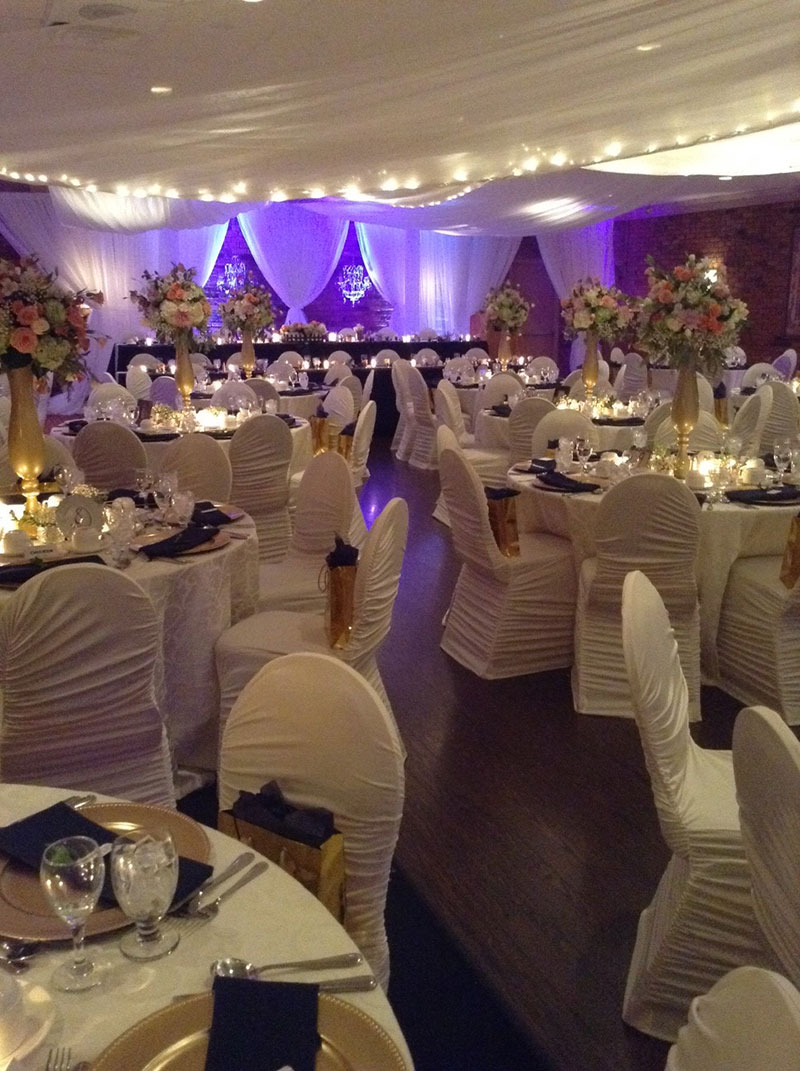 St. Lawrence Ballroom Wedding Decor